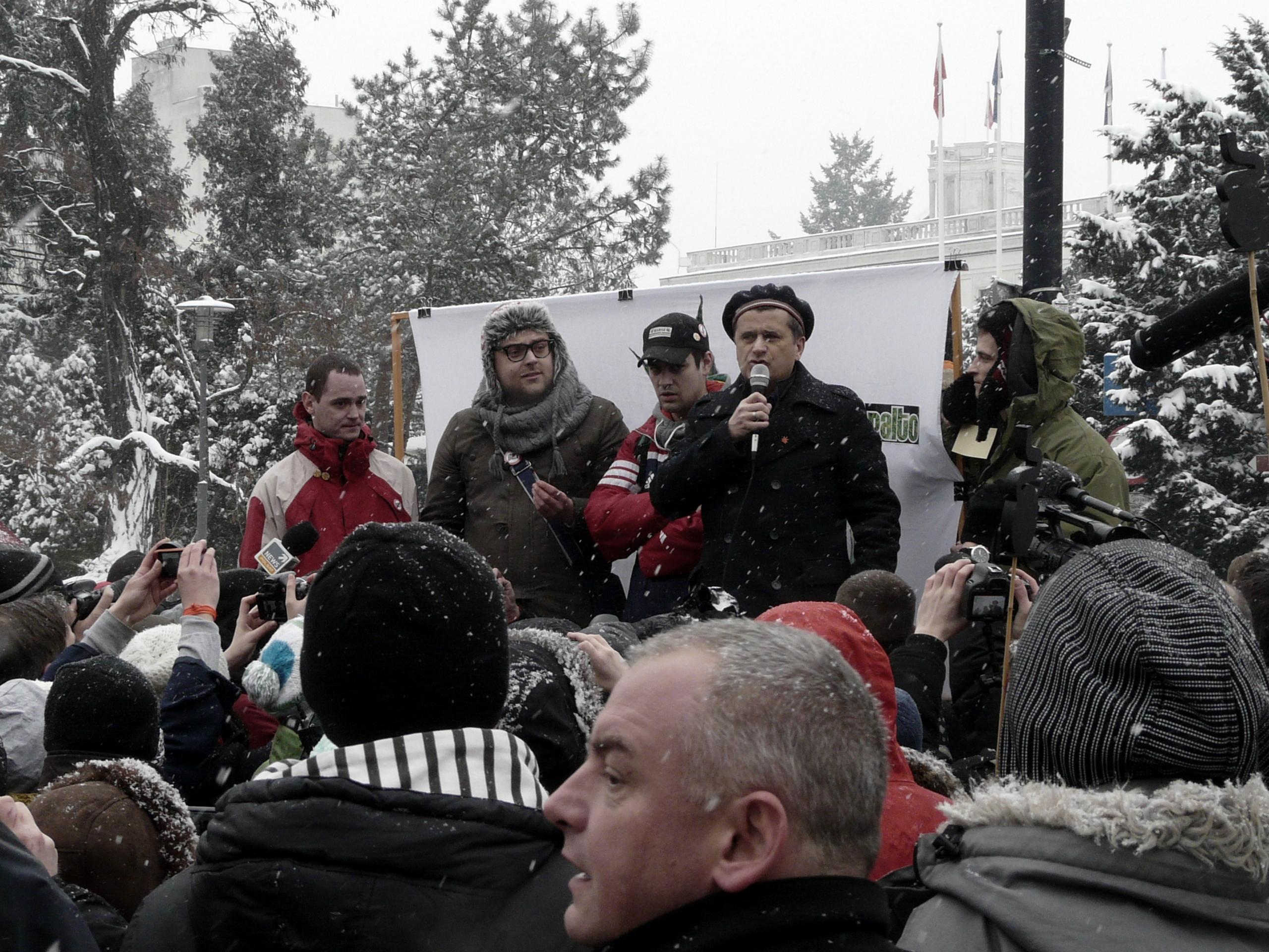 Akcja pod Sejmem (17.02.2012)